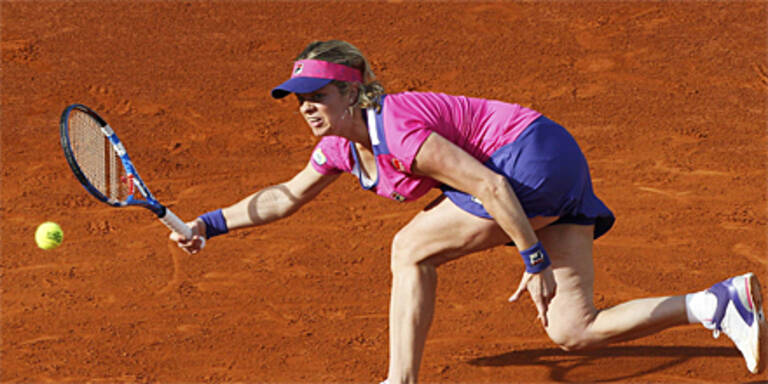 Clijsters sensationell in Runde 2 out