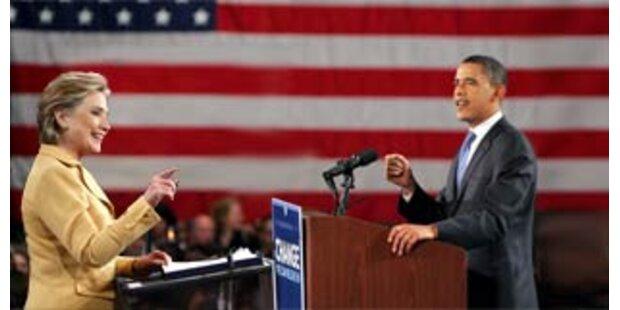 Kein Ende im Duell Obama-Clinton