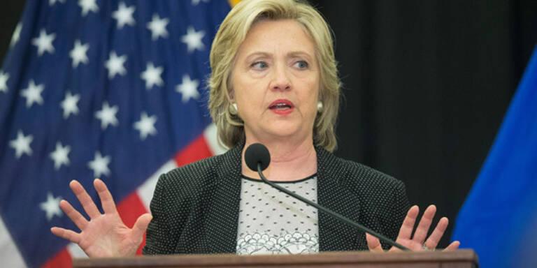 Hillary Clintons Vorsprung schmilzt