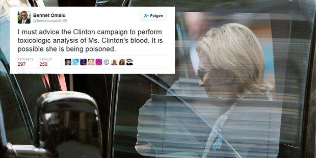 US-Arzt: Clinton könnte vergiftet worden sein