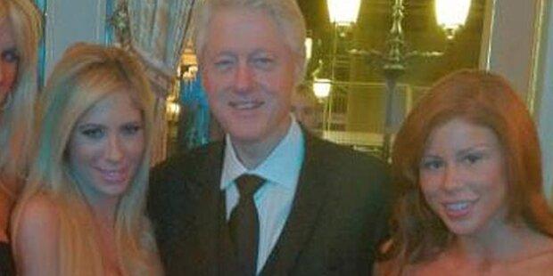 Bill Clinton: Date mit 2 Pornostars
