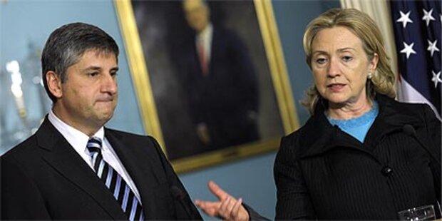 Clinton für EU-Mitgliedschaft der Türkei
