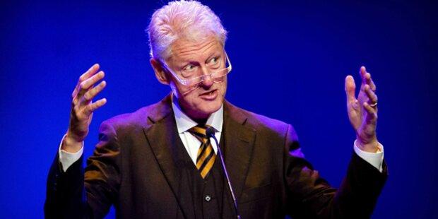 Clinton ehrt Baumgartner