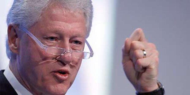 Bill Clinton nach Notoperation wohlauf