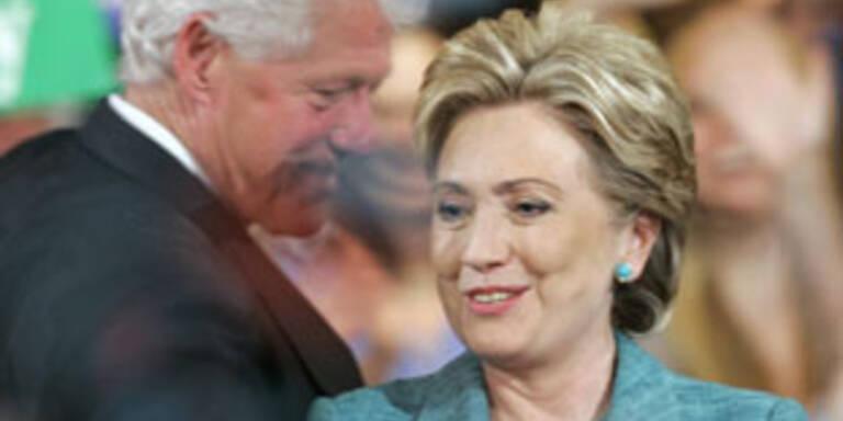 Bill Clinton wieder in der Sex-Falle?
