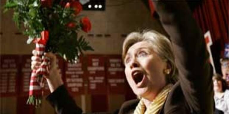 Kommt Hillary Clinton Barack Obama noch näher?