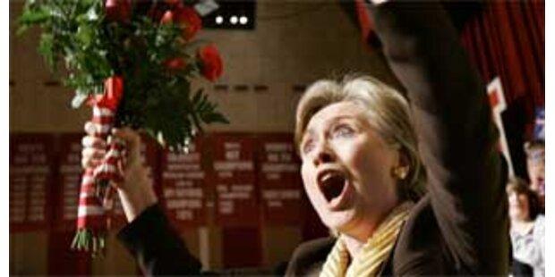Kommt Clinton Obama noch näher?
