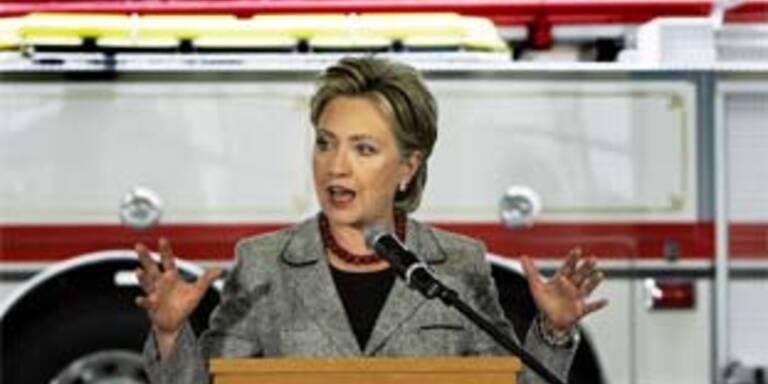 Liegt angeblich mal wieder vorn: Hillary Clinton