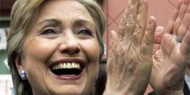 Gibt nicht auf: Hillary Clinton