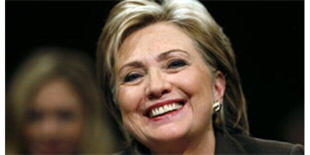 Senats-Ausschuss bestätigte Clinton als Außenministerin