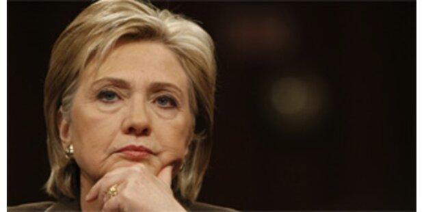 Justiz gegen Ernennung Clintons zur Außenministerin
