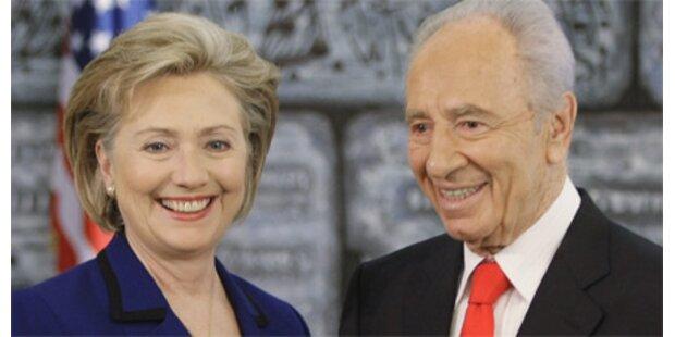 Clinton bekräftigt Forderung nach Zwei-Staaten-Lösung