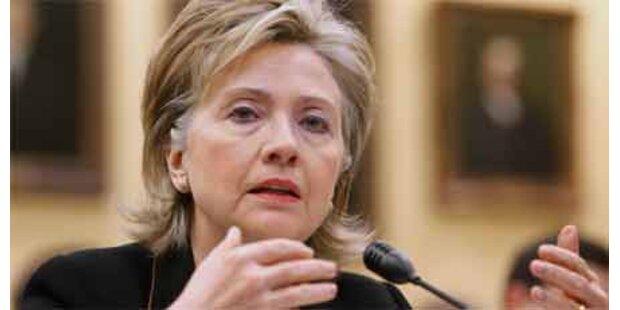 Clinton überraschend in Irak gereist