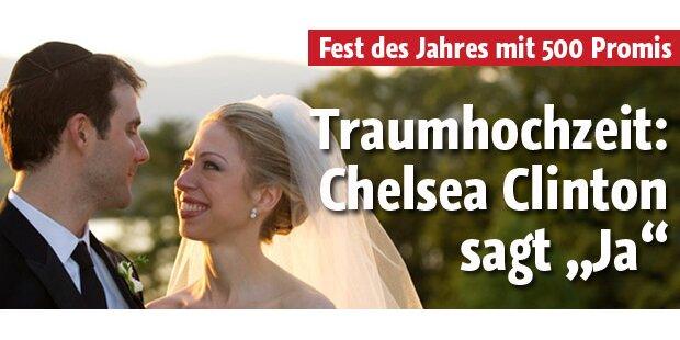 Traum-Hochzeit: Chelsea Clinton sagt Ja