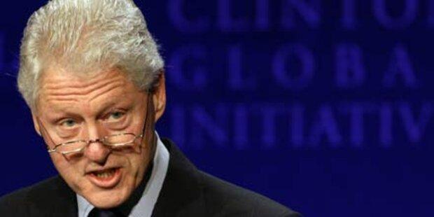 Wieder fit: Bill Clinton verlässt Spital