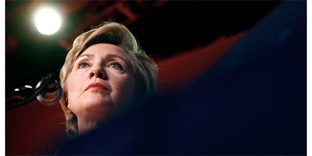 Hillary will das Rennen rasch entscheiden