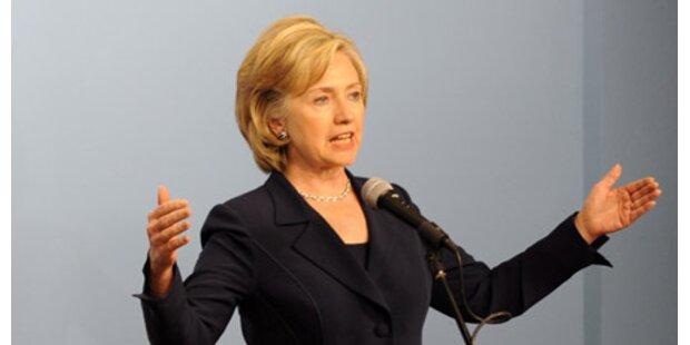 Arabischer Gegenwind für Clinton