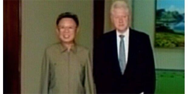 Bill Clinton traf Staatschef Kim Jong Il