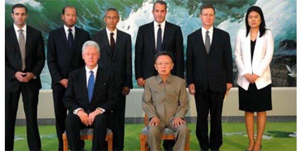 Clinton bestätigt, dass Kim Jong-Il lebt