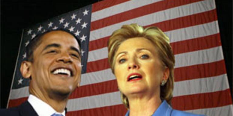 Obama-Triumph in North Carolina, Clinton siegt knapp in Indiana