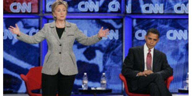 Clinton wirft Obama Schlammschlacht vor