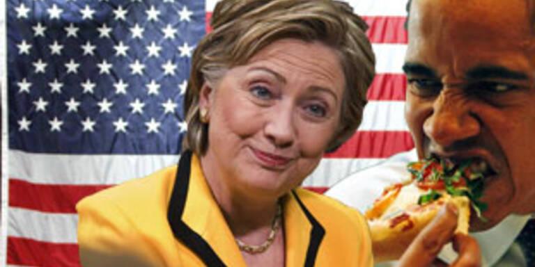 Gallup-Umfrage sieht Clinton US-weit vor Obama