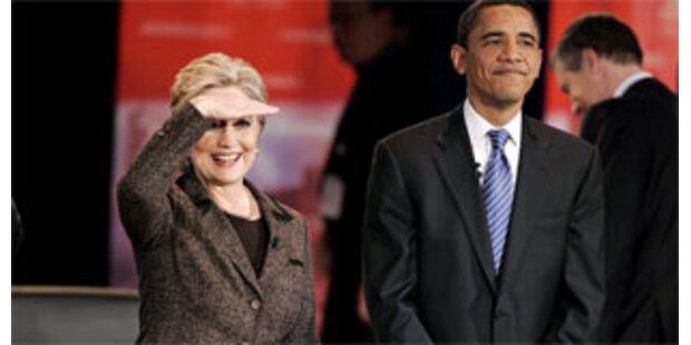 Clinton patzt mit peinlichem Versprecher im TV-Duell