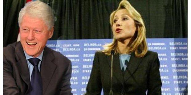 Liebte Clinton Stronach-Tochter?