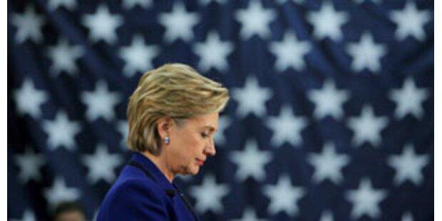 Clinton will im US-Vorwahlkampf nicht aufgeben