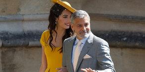 Unfall mit Vespa: Clooney verletzt im Spital