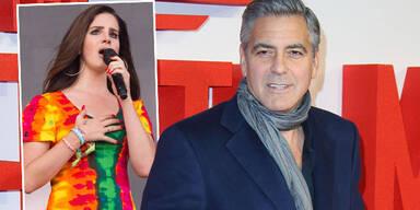 George Clooney, Lana Del Rey