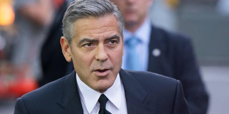 Clooney: Sauer wegen Affären-Gerüchten