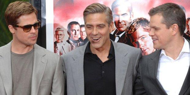 Matt Damon ist offen zu Affleck & Clooney