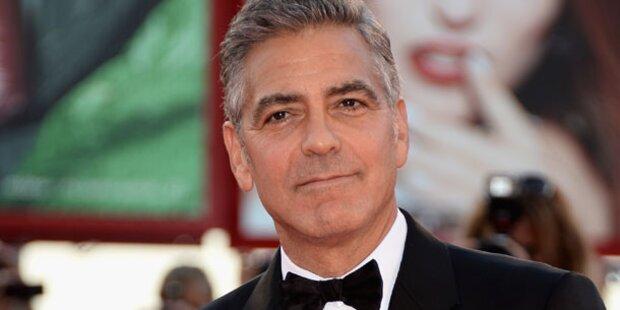 George Clooney genießt das Single-Leben