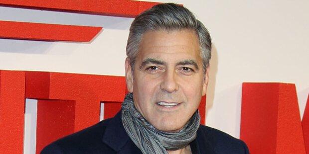 Clooney: Zwei Millionen Dollar für Hochzeit