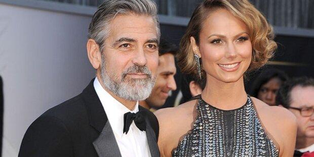 Clooney: Während Stacy schon in Amal verliebt