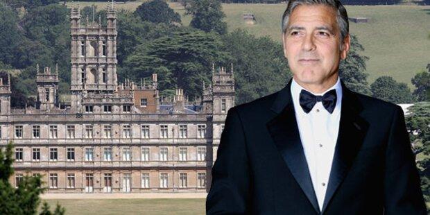 George Clooney: Heirat in englischem Schloss?