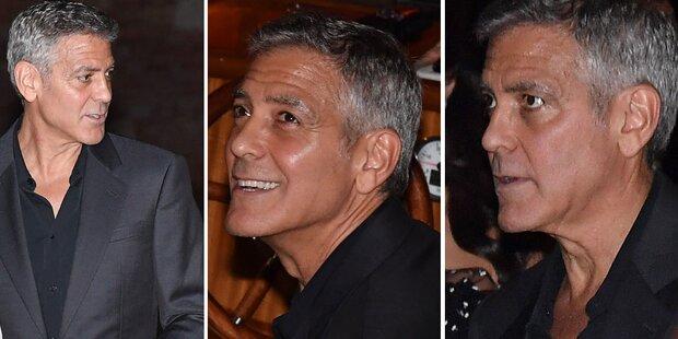 George Clooney: So mager nach Twins-Geburt