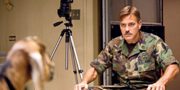George Clooney hat den bösen Blick