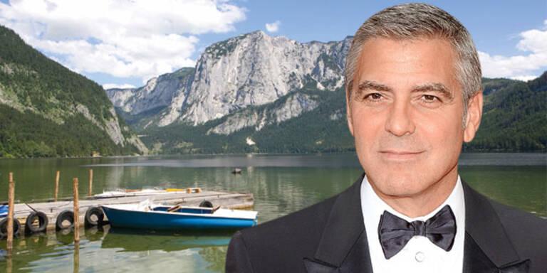 George Clooney peift auf Österreich