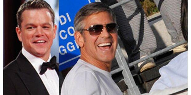 Neues mit Matt Damon & George Clooney