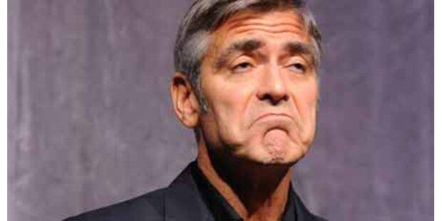 Brad und Matt schickten Clooney Stripper