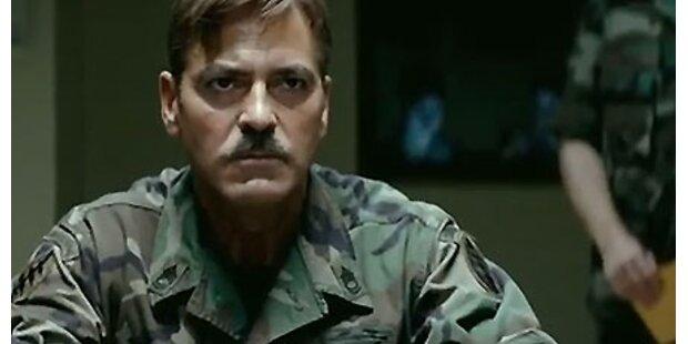 So irre ist George Clooney im neuen Film