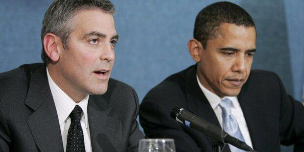 Clooney sammelt 15 Millionen für Obama