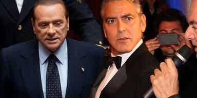George Clooney, Sylvio Berlusconi