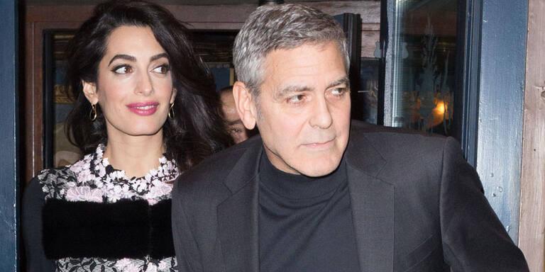 Baby-Alarm! Sind Clooney-Twins schon da?
