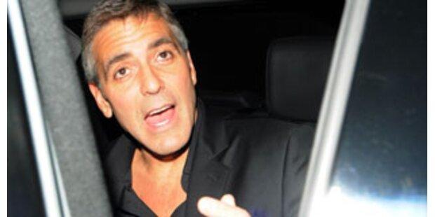 Cafe genießen mit George Clooney