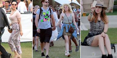 Coachella Teil 2: Stars und ihre Festival-Styles