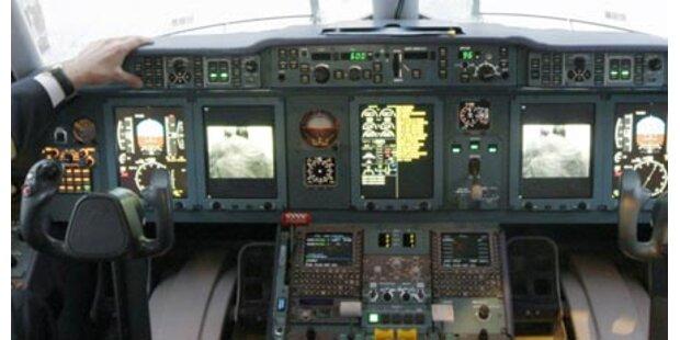 Pilot stieg betrunken in Flugzeug