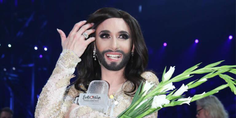 Conchita Wurst wird Welt-Star